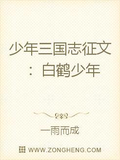 少年三國志徵文:白鶴少年