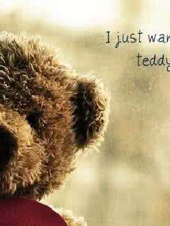 少女與泰迪熊