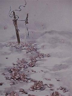 漠北雪中剑