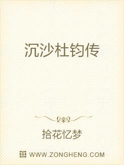 沉沙杜钧传小说封面