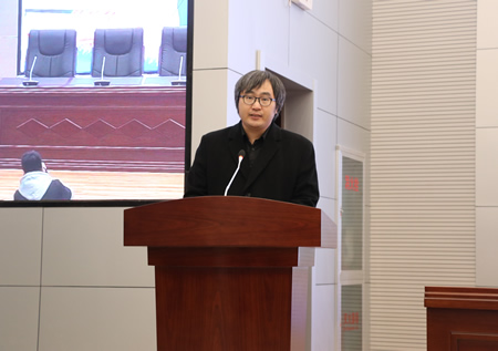 纵横文学高级副总裁许斌发表主题演讲